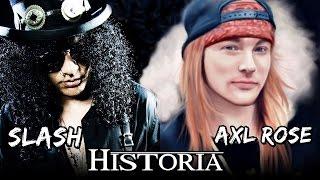 TODO sobre la Pelea de AXL ROSE y SLASH | Guns N' Roses