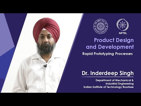 Lec 20 Rapid Prototyping Processes