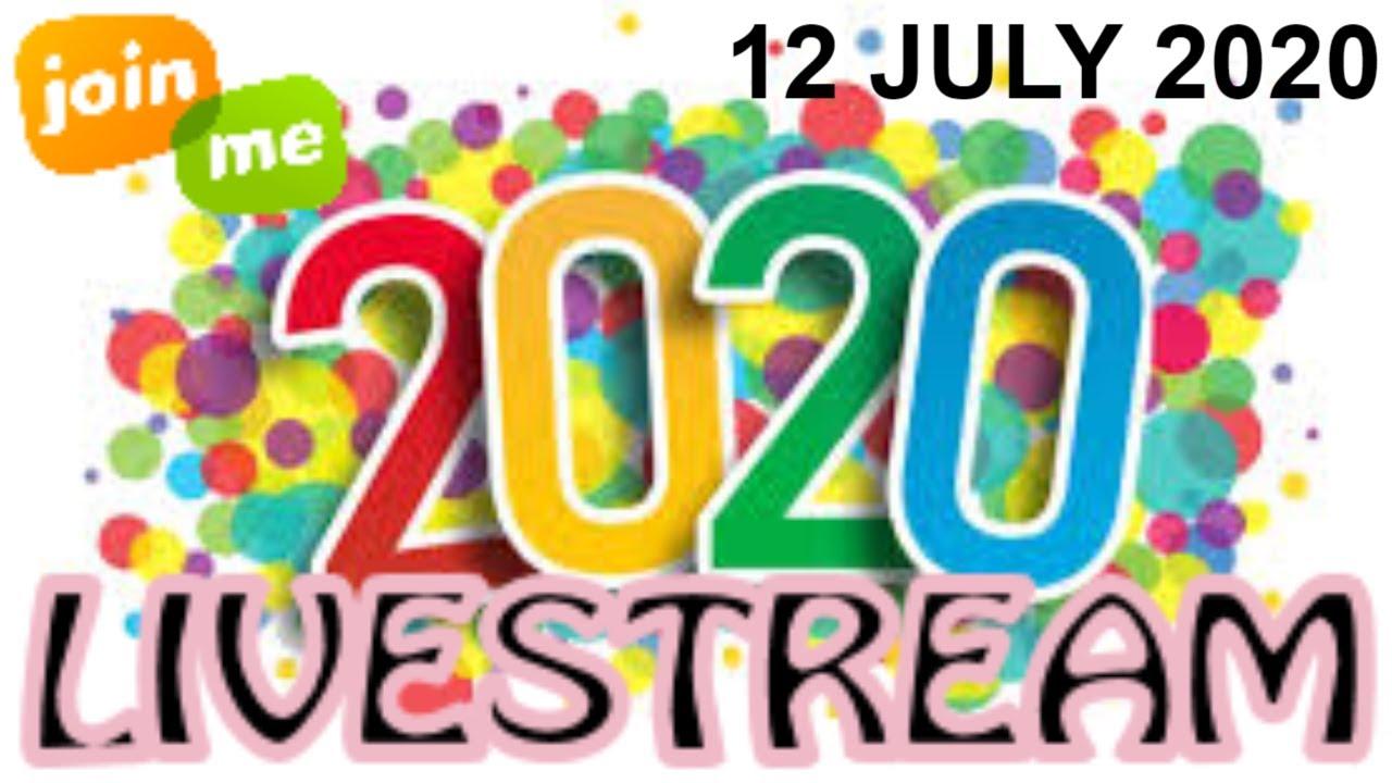 Sunday Live Stream - 12 July 2020