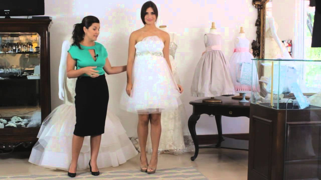 de0d1e844ce Wearing a Different Dress for Your Wedding Reception   Wedding Dresses    Attire - YouTube