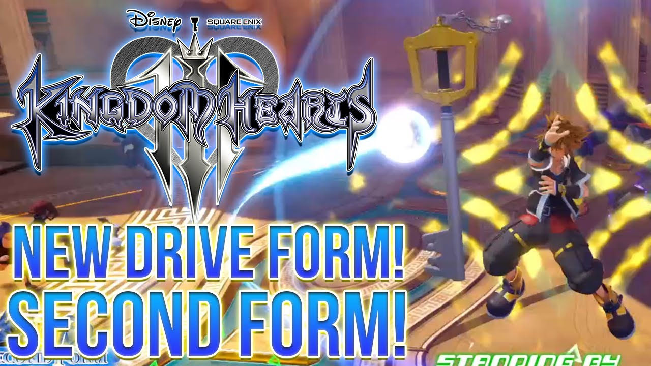 Kingdom Hearts 3 NEW Drive Form - Second Form! - YouTube