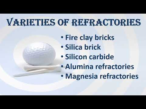 Manufacture Of Refractories Ppt