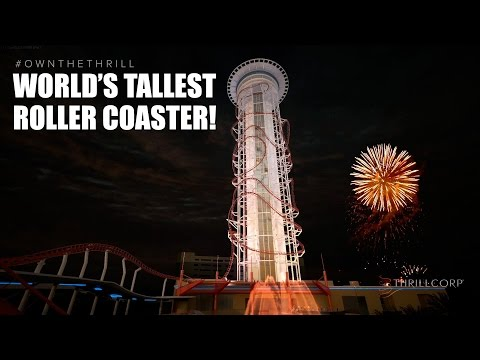 Worlds Tallest Roller Coaster *FULL* Unedited POV!  Skyscraper Skyplex Orlando Florida