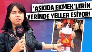 Bahçeli'nin 'Askıda Ekmek' Kampanyasına Yurttaşın Cevabı: Taş yerim, o soyguncuların ekmeğini yemem!
