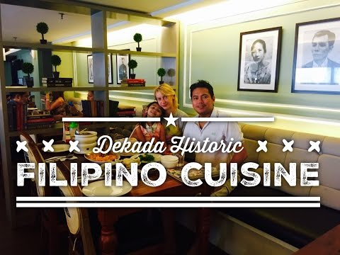 Dekada Filipino Restaurant Glorietta Ayala Center Makati by HourPhilippines.com