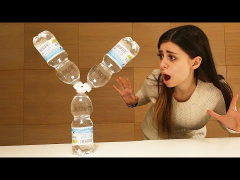 Thumbnail: YOUTUBER EDITION Water Bottle Flip CHALLENGE! (NigaHiga, RomanAtwoodVlogs, Dude Perfect, WolfieRaps)