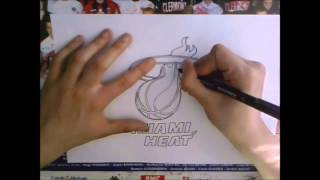 "Speed Drawing #31 ""Miami Heat"" 