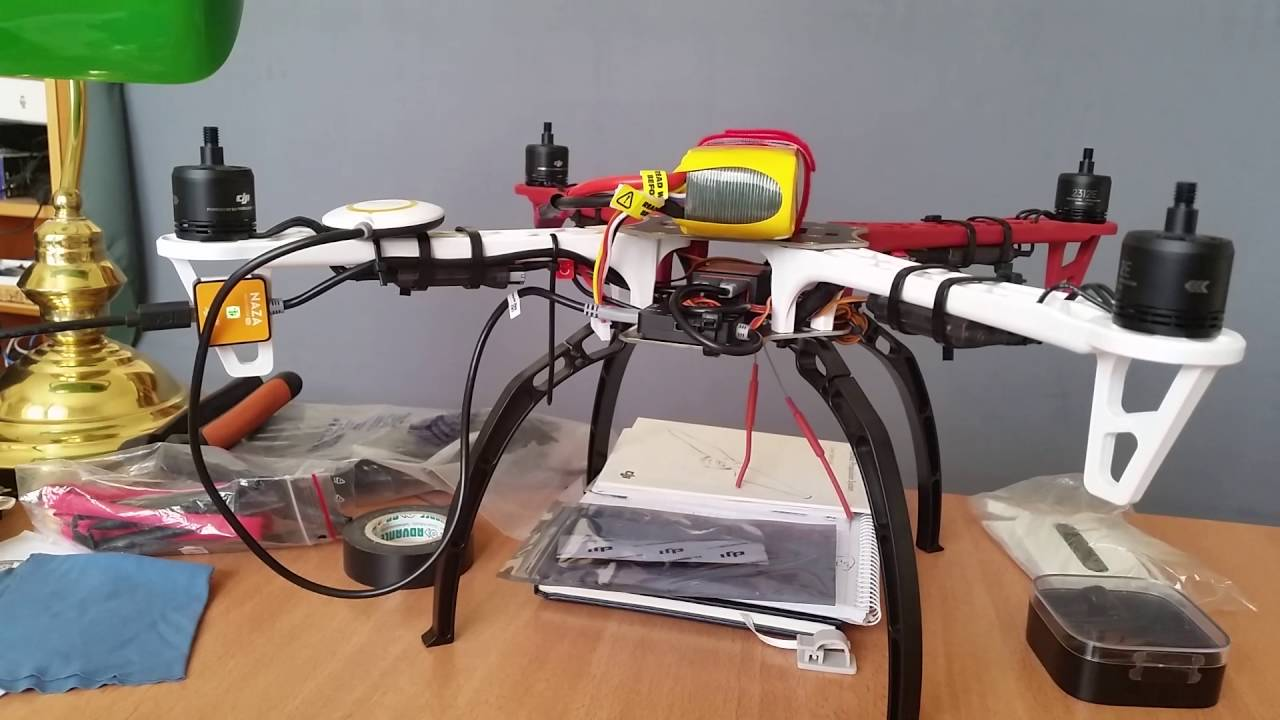Dji naza m v2 multi-rotor stabilization controller and gps/compass.