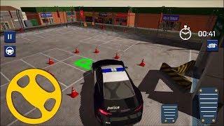 3D Police Car Parking Driver  // Polis Arabası Park Etme Oyunu
