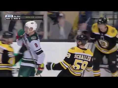 Tim Schaller empty net Goal vs MIN November 6th, 2017