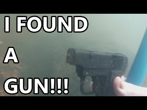 River Treasure #17: I Found A Gun!????...............................(maybe)