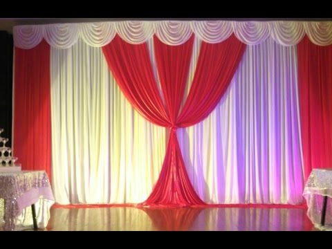 Wedding Decoration Backdrop Youtube