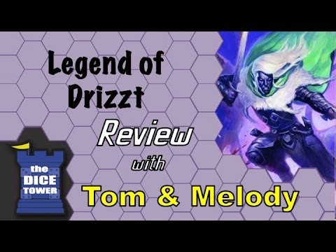 Legend of Drizzt Review - with Tom and Melody Vasel