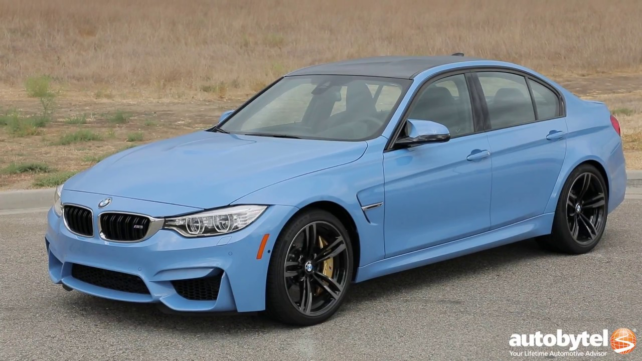 2017 BMW M3 Test Drive Video Review