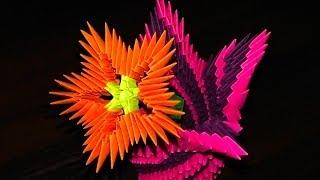 Модульное оригами цветы (цветок) мастер класс для начинающих