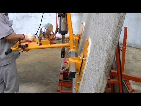 ABACO STONE VACUUM LIFTER 50 - SVL50 - stone clamp, material handling equipment, granite, marble,