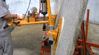 ABACO STONE VACUUM LIFTER 50 - SVL50 - stone clamp, material handling equipment, granite, marble,