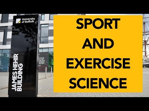 University of Suffolk - BSc (Hons) Sport & Exercise Science