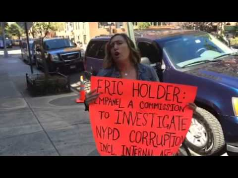 Eric Holder Protested Eric Garner Homicide NYPD