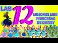 Las 12 MEJORES MINI PRINCESAS DE DISNEY!! POSTRES FÁCILES y DELICIOSOS para tu FIESTA o EVENTOS