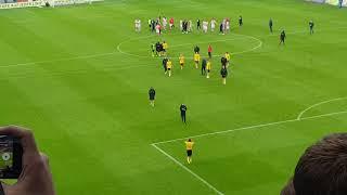 Köln - Dynamo Dresden   Reaktionen nach dem Spiel   10. November 2018