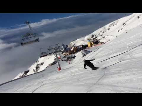 Snowboard freestyle Run Cardrona