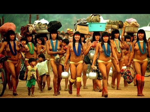 Tears In The Amazon - Daily Life For Women In Amazon (Isolated)