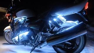 как сделать подсветку мотоцикла