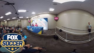 Bruce Arena discusses his relationship with Michael Bradley | 360 VIDEO | 2017 CONCACAF GOLD CUP