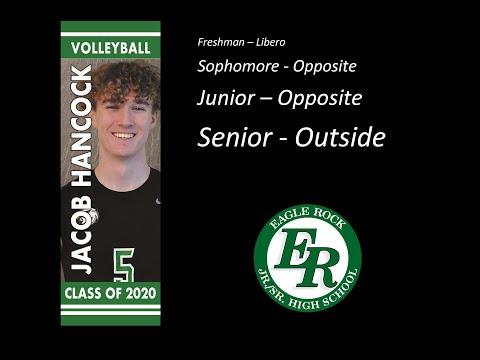 Jacob Hancock - Eagle Rock High School - Volleyball Highlight Reel 2020