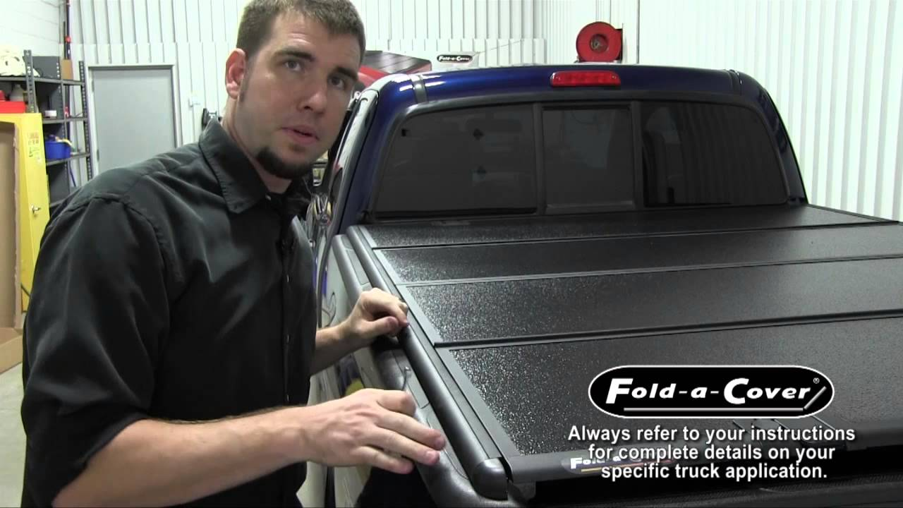 Fold A Cover >> Fold-a-Cover G4 Elite Installation Overview - Toyota Tacoma - YouTube