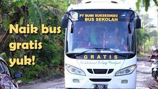 BSI Sediakan Bus Sekolah Gratis Bagi Pelajar
