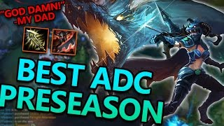 BEST ADC IN PRESEASON? HOW TO PLAY VAYNE - League of Legends Commentary