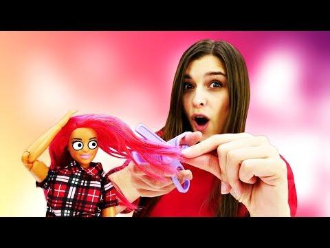Красим волосы Терезе - Свидание с Кеном. Видео для девочек - Куклы Барби