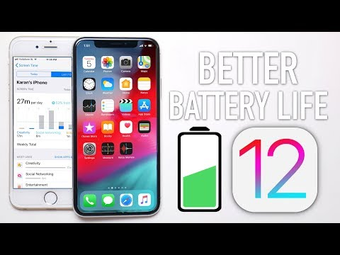 iOS 12: How to Get Better Battery Life!