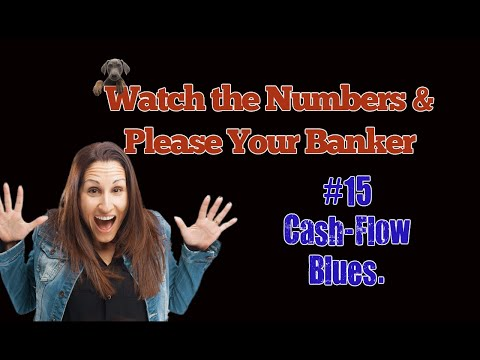 Watch The Numbers And Please Your Banker. #15 Cash-Flow Blues. By Learn Accounting Fast.