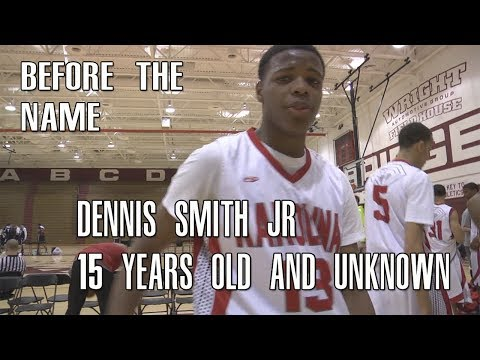 Dennis Smith Jr. The Biggest Sleeper In The Draft?! 15 Years Old and Unknown Full Highlights!