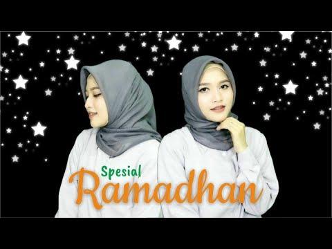 Tutorial Hijab Segiempat Paris Simpel Spesial Ramadhan 2017 | Amalia Kurnia