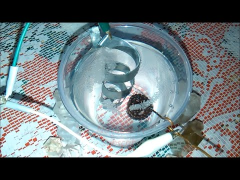 AMAZING Experiment: Proof on How Crystal Powder Interacts With Nano Coated Sphere Coil