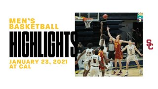Men's Basketball: USC 76, Cal 68 - Highlights 1/23/21