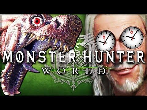 2000 Hour Veteran VS Monster Hunter World Beta! Anjanath  All Weapons Gameplay
