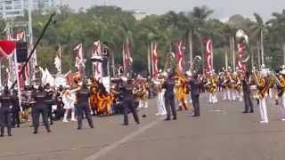 Marching Band STTD Bekasi Di Monas 2015