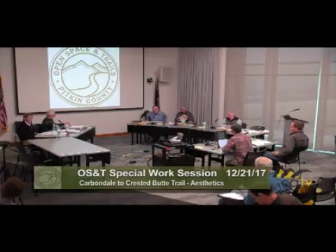 Open Space and Trails Special Meeting