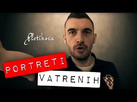 Stipe Pletikosa - portreti 'Vatrenih', Robert Knjaz