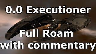 Nullsec Executioner Solo Roam Commentary