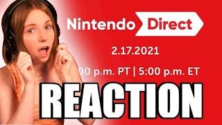 NINTENDO DIRECT FULL REACTION   02.17.2021   MissClick Gaming