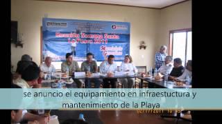 Compromisos Cumplidos en el Desarrollo Turistico de Soto La Marina, Tamaulipas 2011