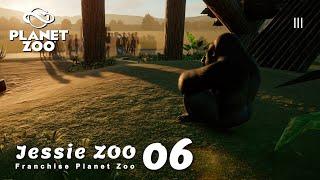 ปฏิเสธมนุษยชาติ หวนคืนสู่วานร (มีลิงกอริลลา) | Franchise Planet Zoo – Jessie Zoo 06