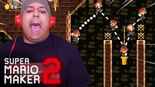 THIS LEVEL IS ON ANOTHER LEVEL!! 2020 SHHH!! [SUPER MARIO MAKER 2] [#29]