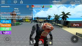 Roblox Weight Lifting Simulator 3 Glitch/Hack (Max Speed High Strength Glitch)